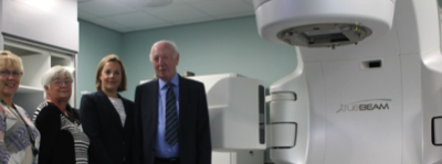 Donations fund Radiotherapy machine at North Wales Cancer Centre
