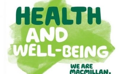 Get the Support You Need Macmillan Health and Well-Being Events