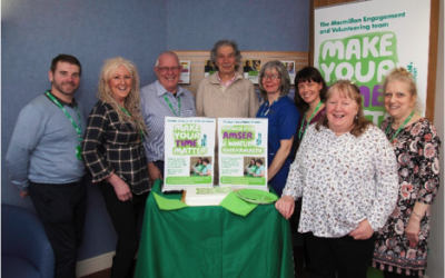 Launch of Macmillan Wrexham Support Buddies